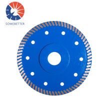 114mm Stone Cutting Disc Hot Press Diamond Saw Blade Cutting Tools For Marble Granite