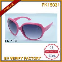 Sonnenbrille mit Bohr- und wahre rosa Rahmen (FK15031)