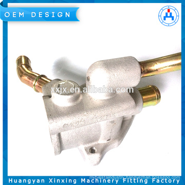 Pipe parts factory price aluminum die machine spare part
