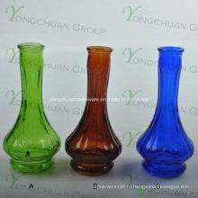 Стеклянная ваза, изготовленная машинным способом, наклонная прозрачная стеклянная ваза