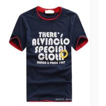OEM plus Größen-Qualitäts-Baumwollmann-T-Shirt