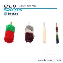 Borekare Gun Cleaning Acrylic Yarn Mop Bore Brush for Shotgun