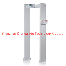 Body Scanner Walk Through Metal Detector with Temperature Controller