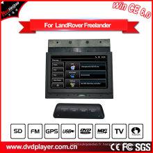 Hualingan Lecteur DVD de voiture Land Rover Freelander Navigation GPS