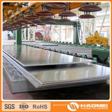 Feuille d'aluminium de qualité marine 5052 en bon prix