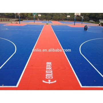 interlock luar Bola Keranjang Court Basketball
