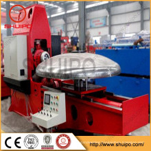 Hot sale SHUIPO Tank head flanging machine Vessel Dished End Forming Machine