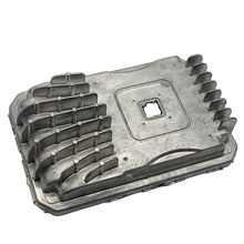 Customized Precision Auto Parts OEM High Pressure Aluminum Die Casting Radiator Cover Plate