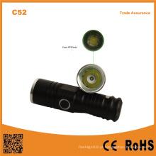 C52 alta potência mini lanterna LED impermeável ao ar livre portátil