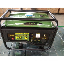 Ce GS China Factory Hot Selling Portable Power Gasoline Generator, Generator with Ce (WH2600)