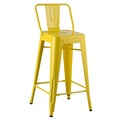Tolix Bar Cafe Silla industrial Kitchen Cafe Chair