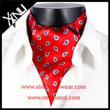Heißer Verkauf Männer Print Ascot Krawatte Cravat