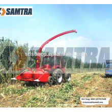 oat forage combine harvester powered by tractor
