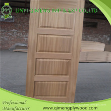 Thickenss 4.2mm HDF Base Moulded Door Skin with Cheaper Price