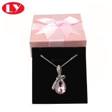 Luxury Custom Velvet Jewelry Packaging Set Box