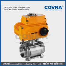 Водяной запорный электрический клапан 2-ходовой для HVAC, система сжатого воздуха
