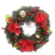Christmas deco mesh wreath target christmas wreath with reindeer