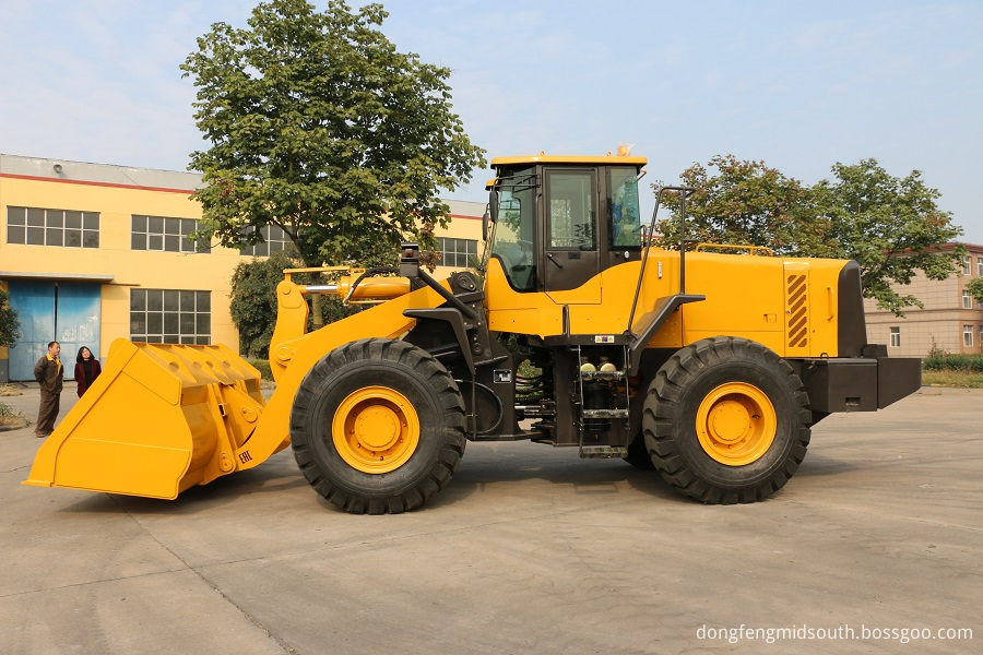 5 Ton Wheel Loader 4