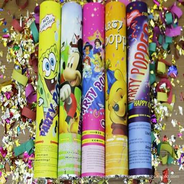 Galleta colorida de la Navidad del fabricante con confeti para la fuente del partido