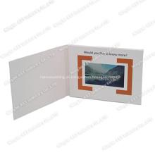 Folheto de vídeo, módulo de folheto de vídeo, cartão de publicidade em vídeo