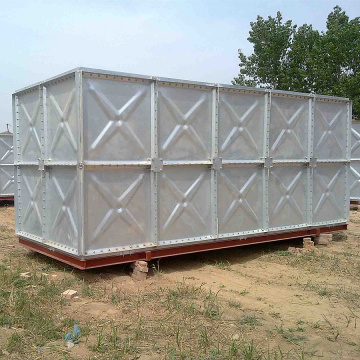 Gepresster Stahl Galvanized Water Storage Panel Tank