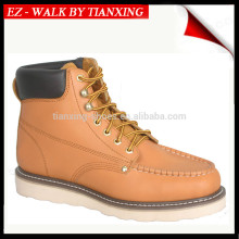 Moc toe safety shoes with steel toe protection