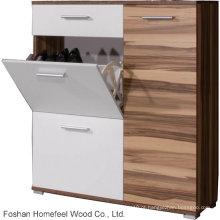Gabinete de sapato de madeira para móveis de casa (HF-EY08146)