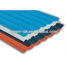 гофрированной крышей листов / цвета с покрытием кровельный лист