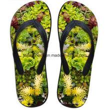 Последние дизайн 3D печать свободного покроя флип-флоп тапочки обувь (FF68-13)