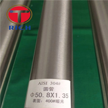 Permukaan yang baik 100% PMI Cermin Polishing Stainless Steel Welded Tube