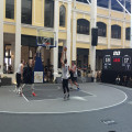 FIBA 3x3 basketball court plastic outdoor floor