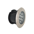 Luz led enterrada subterránea de acero inoxidable ip67