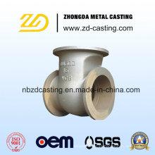 Acero inoxidable de acero inoxidable Casting de precisión de la válvula de transmisión automática