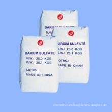 Sulfato de bario precipitado de grado industrial