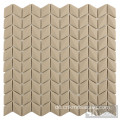 Brown Diamond Tiles Glasmosaik Backsplash