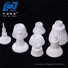 Soporte de lámpara de cerámica de alúmina 95%