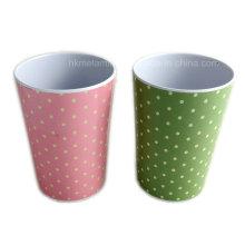 300 ml de tasses de mélamine colorées