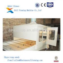 revestimiento de piedra de acero de zinc perfil de teja que hace la maquinaria xinnuo rollo que forma la máquina