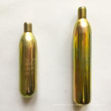Fábrica de Zhejiang 33gram 45gram e 74gram co2 cartucho