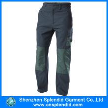 Custom Men Cargo Heavy Duty Green Work Trousers