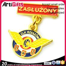 Classic style die cut medal badges
