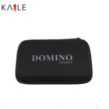 Domino Spiel mit einem Nagel Reißverschlusstasche Hersteller