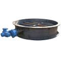 Wafer type semi lug butterfly valve