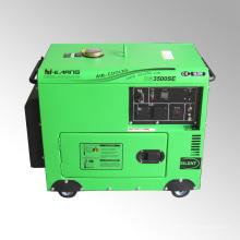 Generador diesel silencioso portátil del uso en el hogar 3kw (DG3500SE)