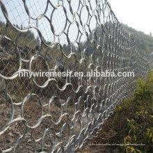 Steinschlag flexible Schutznetze Debris Flow Barriers
