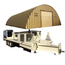 120 SABM 600-305 K Q span curve roof galvanized iron parking ground/area/lot roof building machine