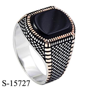 Bague à bijoux en argent sterling 925 avec design haut de gamme