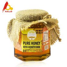 Natural organic polyflower honey