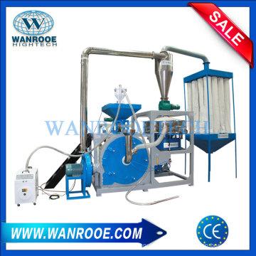 Máquina pulverizadora plástica inútil de PP / PE / PVC