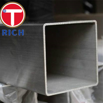 Square Welded Steel Pipes Stainless Steel 304 Tube